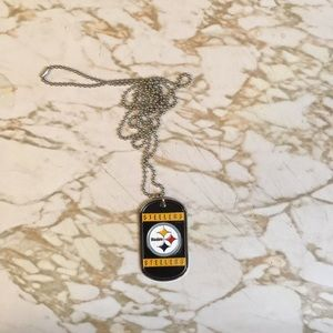 Pittsburgh Steelers dog tag